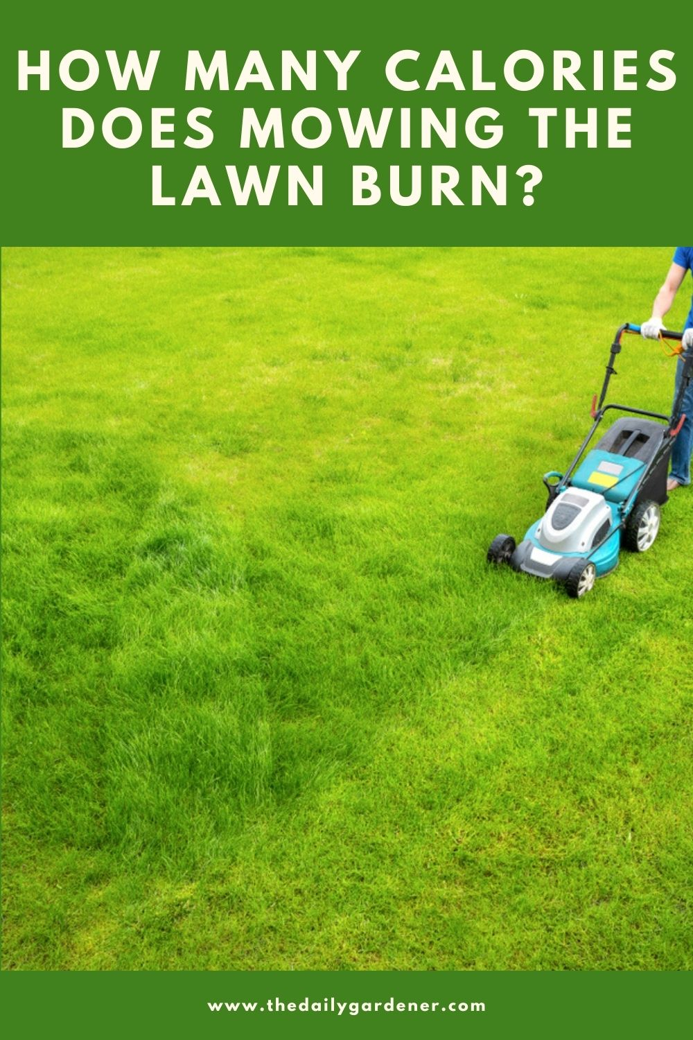 How Many Calories Does Mowing the Lawn Burn 1