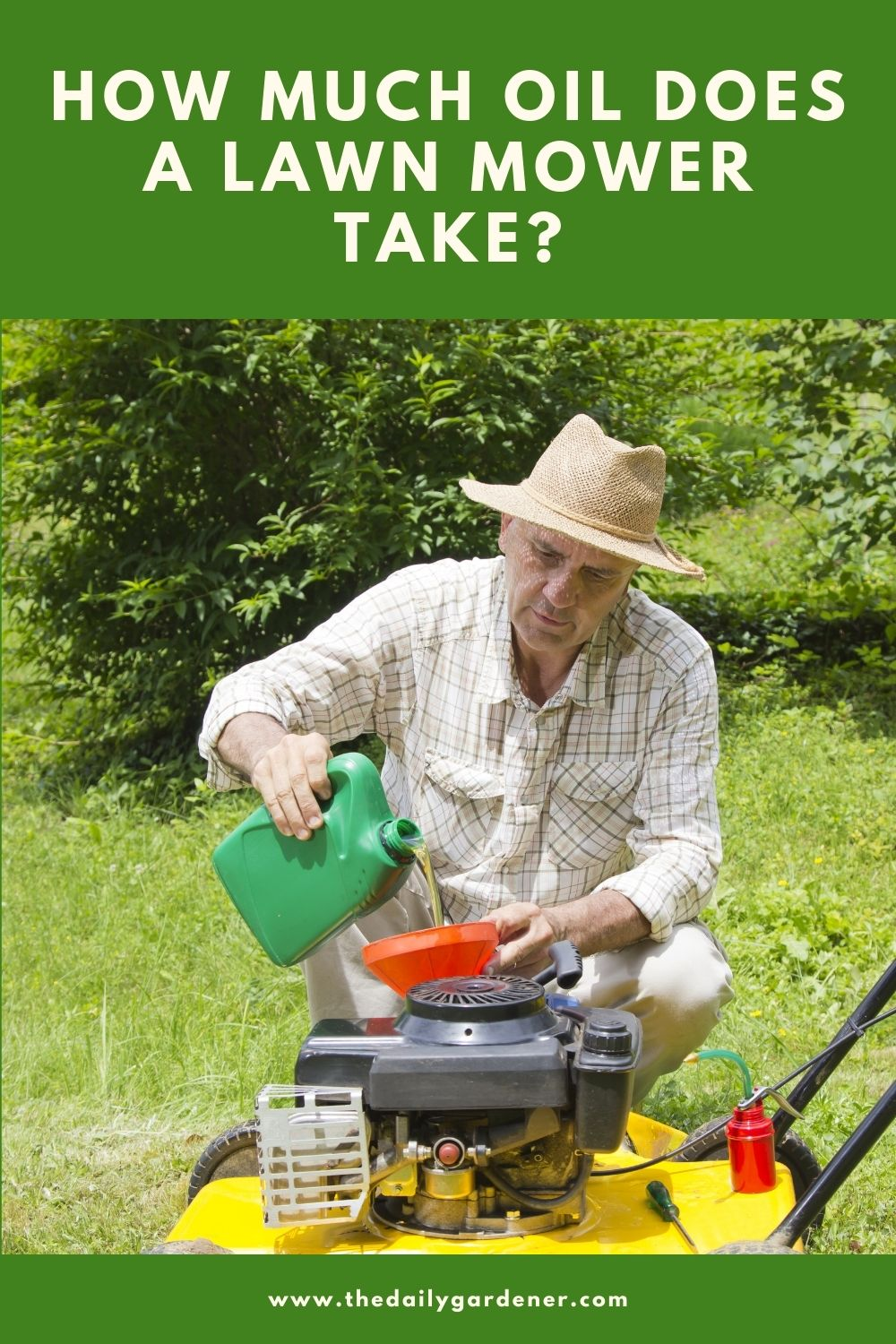 How Much Oil Does a Lawn Mower Take 1