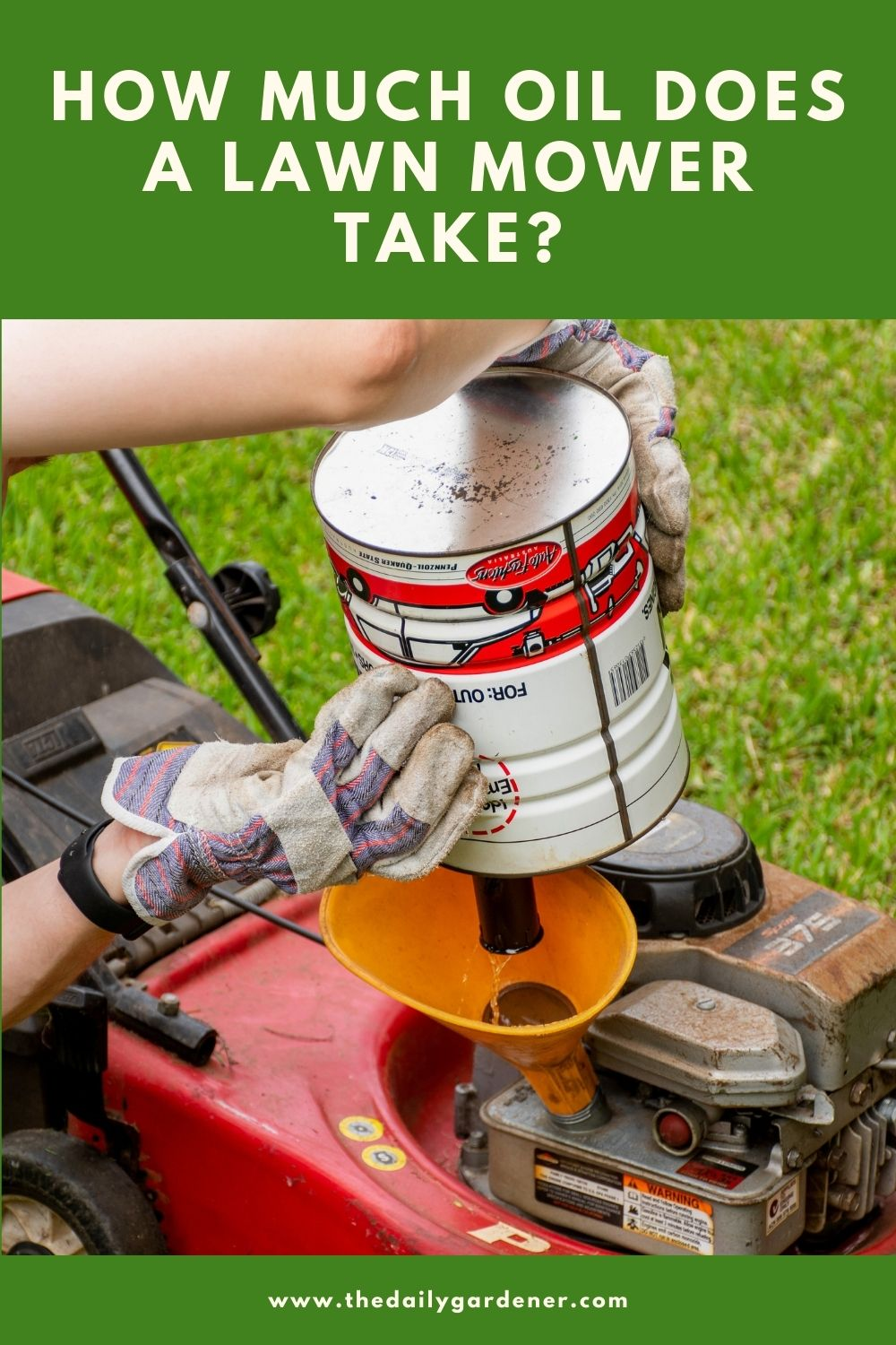 How Much Oil Does a Lawn Mower Take 2