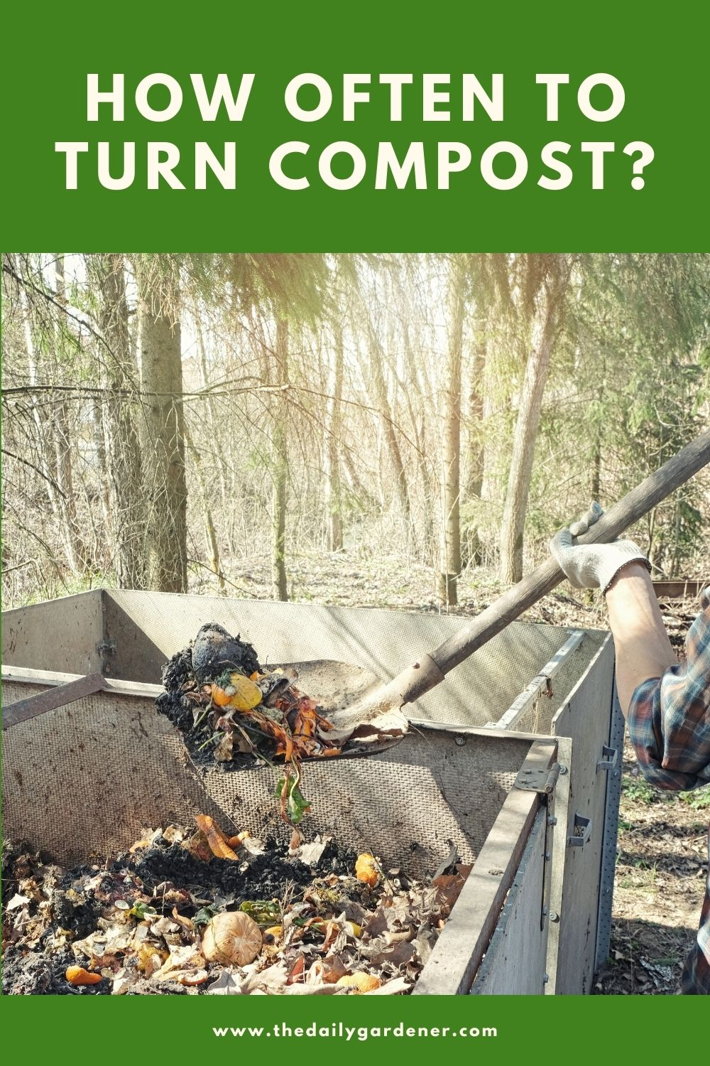 How Often to Turn Compost 1