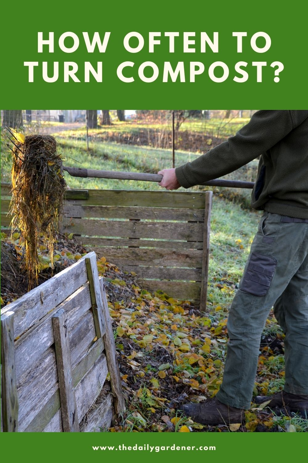 How Often to Turn Compost 2