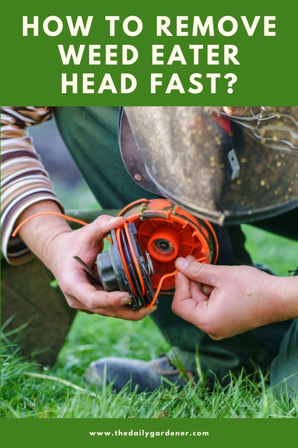 How to Remove Weed Eater Head Fast 1