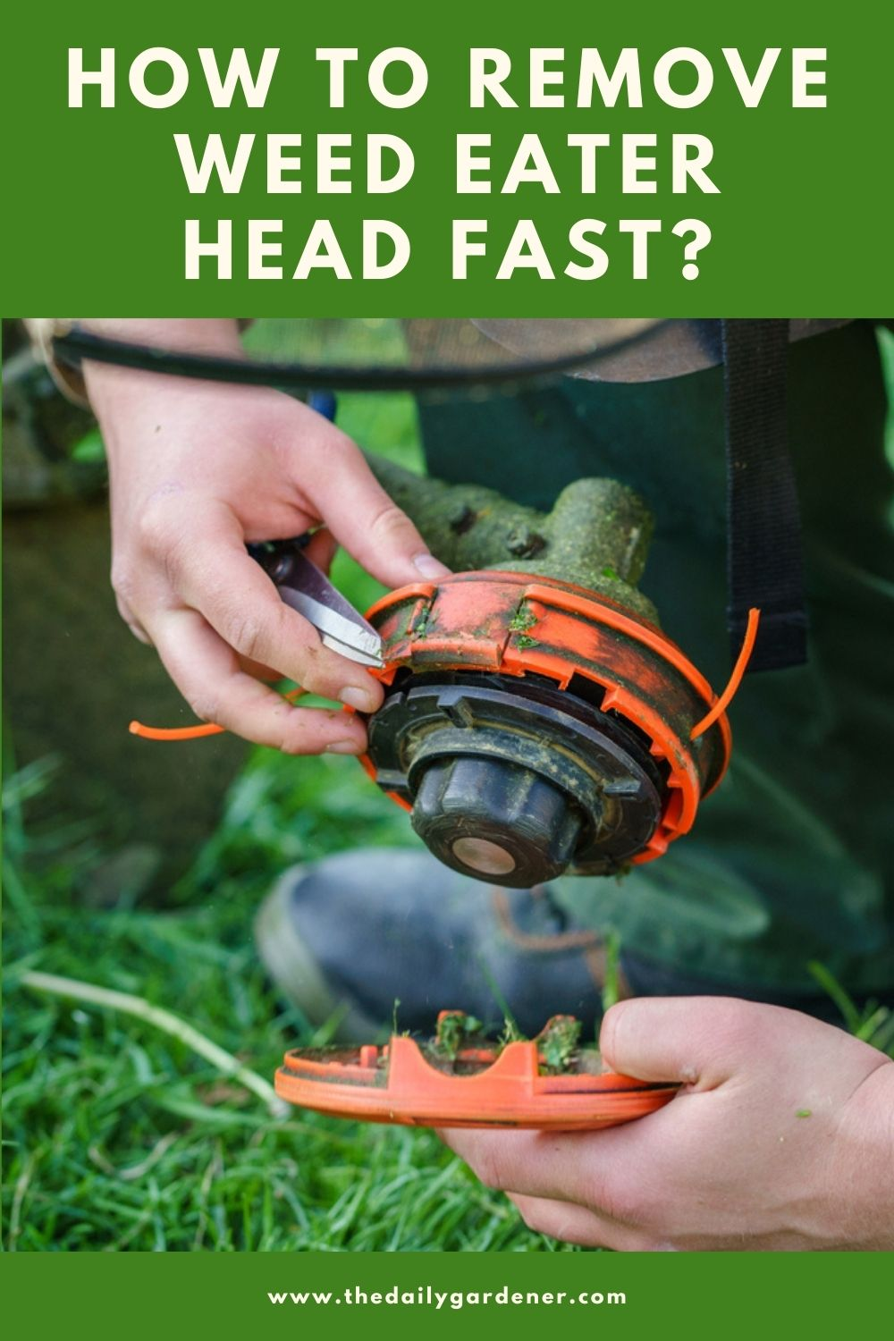How to Remove Weed Eater Head Fast 2