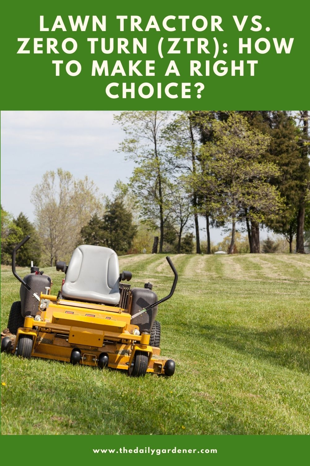 Lawn Tractor vs. Zero Turn (ZTR) How to Make a Right Choice 1