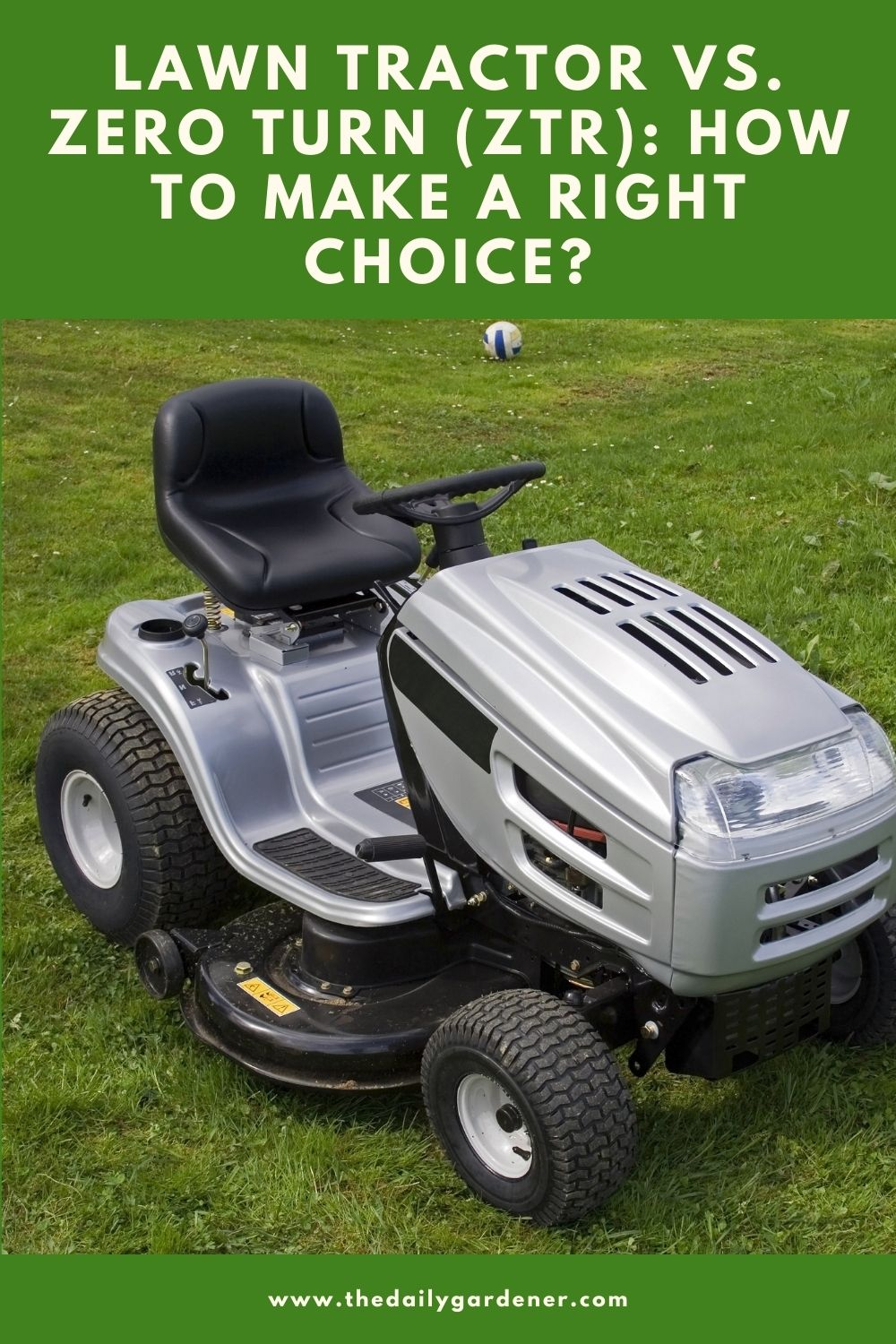 Lawn Tractor vs. Zero Turn (ZTR) How to Make a Right Choice 2