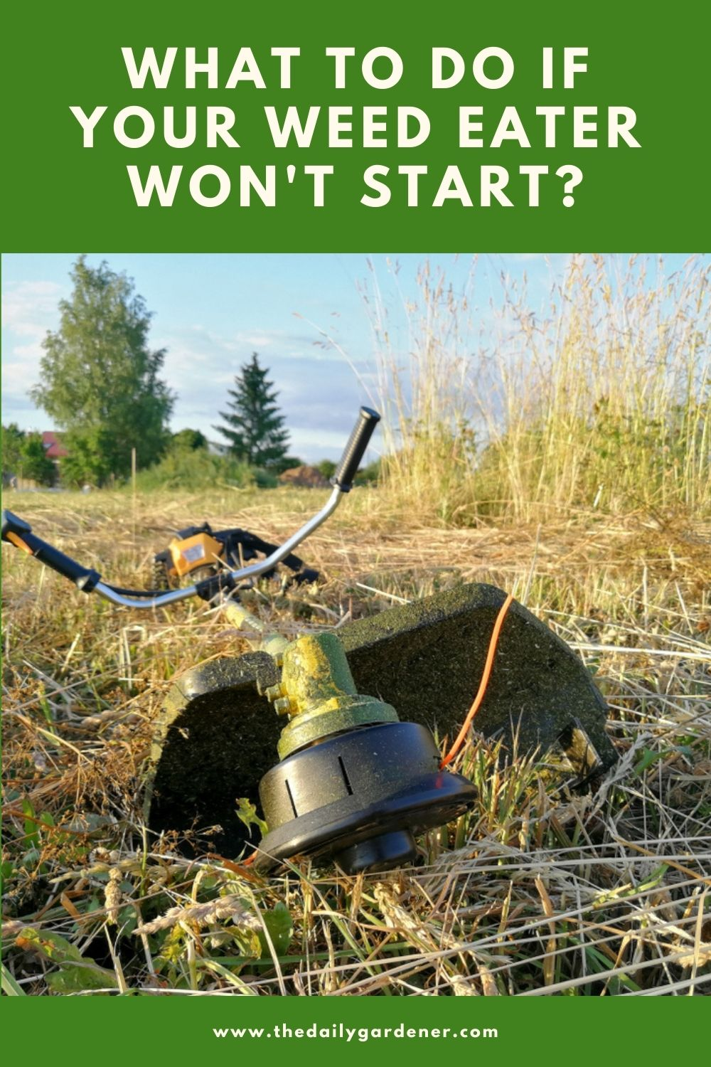 What to Do If Your Weed Eater Won't Start 1