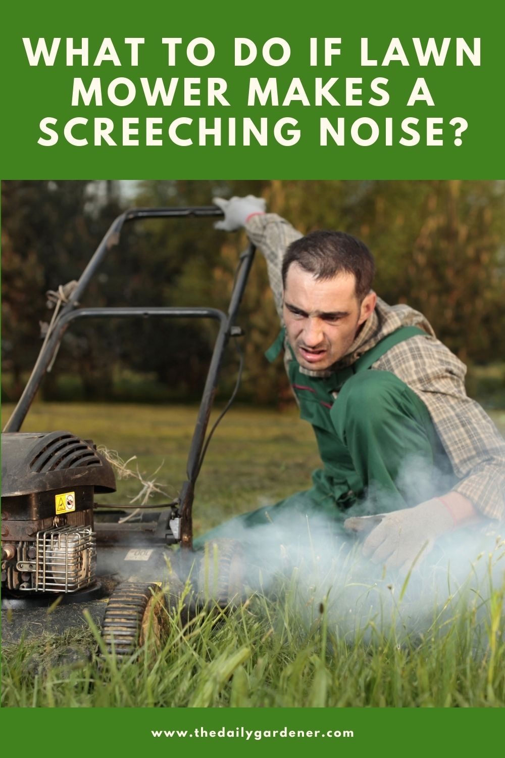 What to do if Lawn Mower Makes a Screeching Noise 1