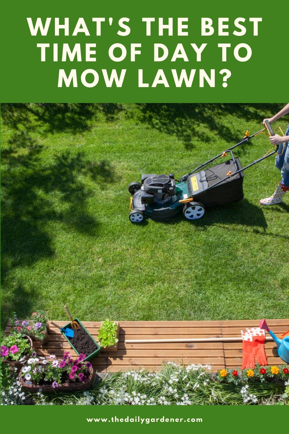 What's the Best Time of Day to Mow Lawn 2