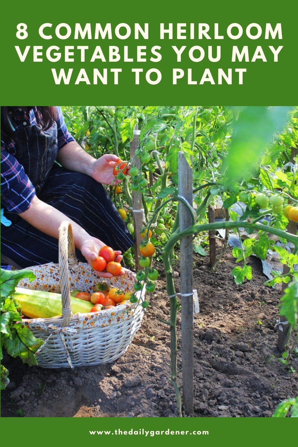 8 Common Heirloom Vegetables You May Want to Plant 1