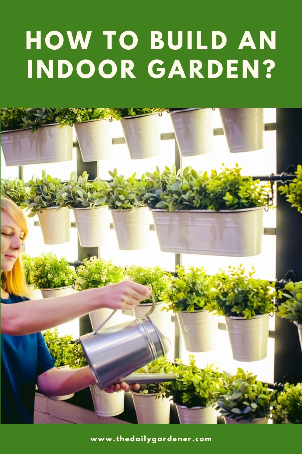 How to build an Indoor Garden 2