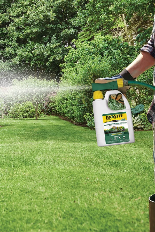 When to Put Ironite on the Lawn